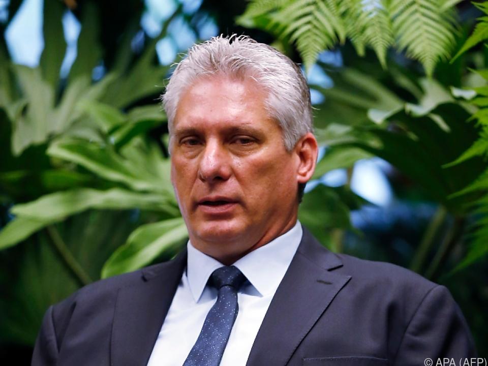 Diaz-Canel wagt die vorsichtige Lockerung