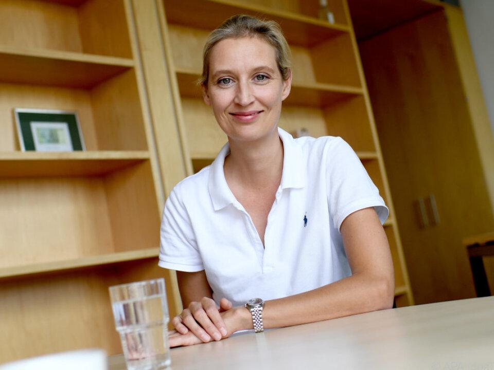 Die AfD-Fraktionsvorsitzende Alice Weidel
