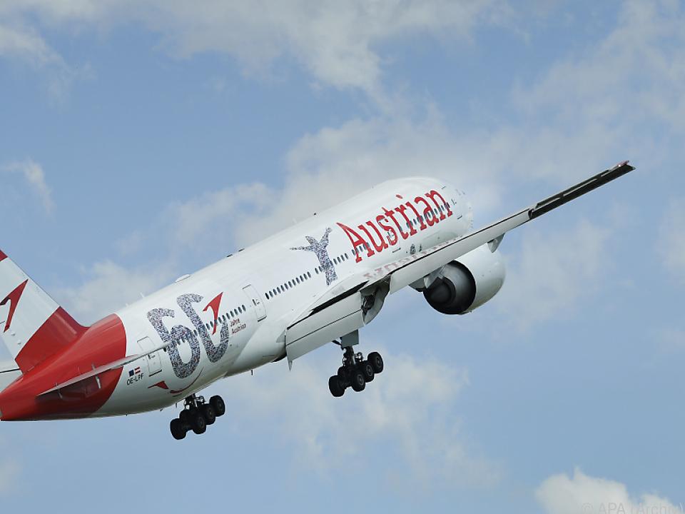 Die AUA beförderte im ersten Halbjahr 6,4 Millionen Passagiere