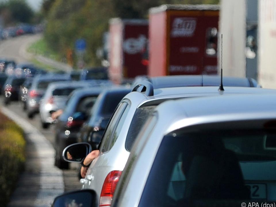 Die Autofahrer sollen weniger Zeit im Stau verbringen