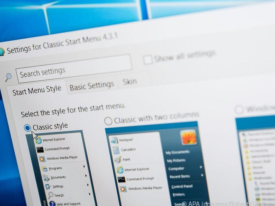 Die Benutzeroberfläche von Windows 10 gefällt nicht? Kein Problem