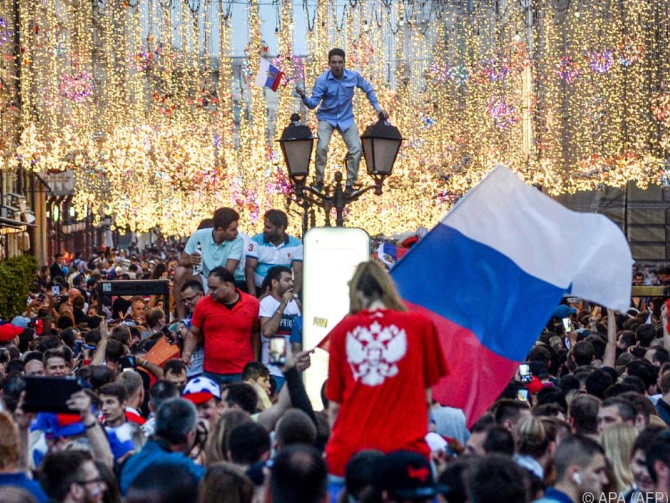 Die Fans des Veranstalters feierten bis spät in die Nacht