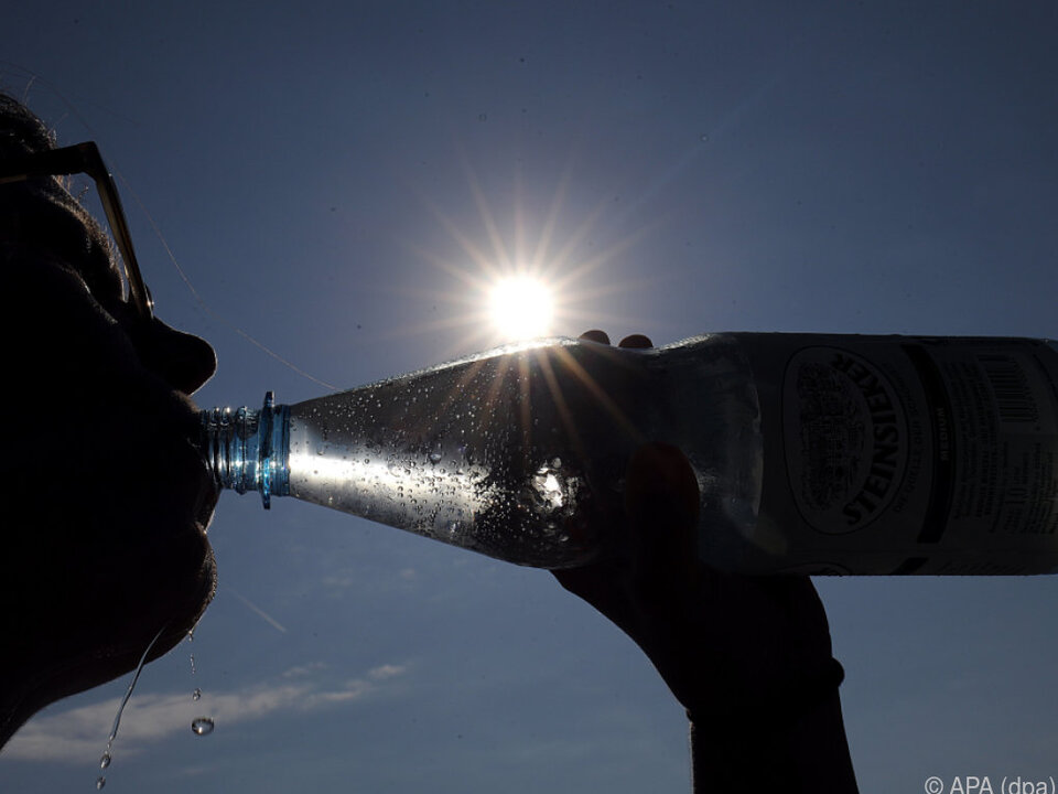 Die Hitze macht durstig
