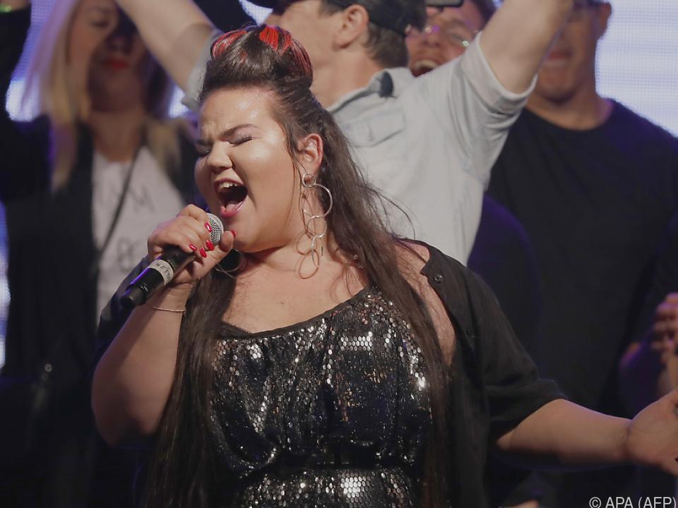 Die israelische Sängerin Netta Barzilai gewann den 63. ESC