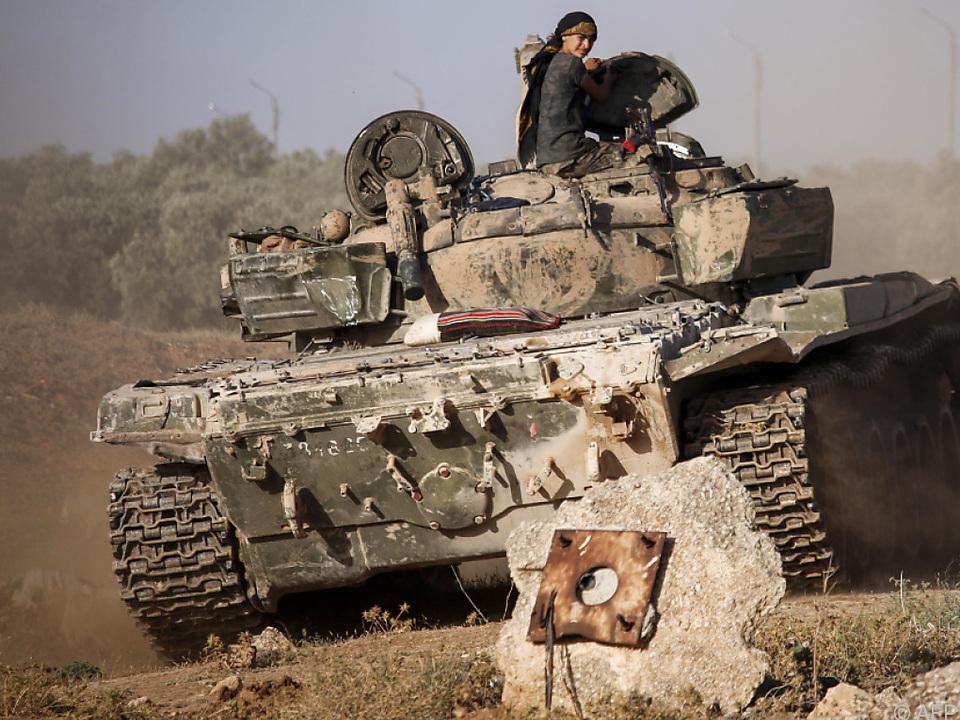 Die Lage in Daraa wird immer verzweifelter