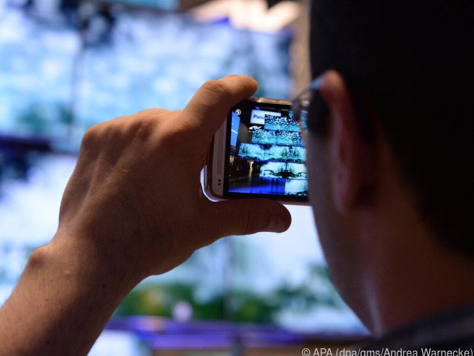 Die meisten Bilder werden mit dem Smartphone geschossen