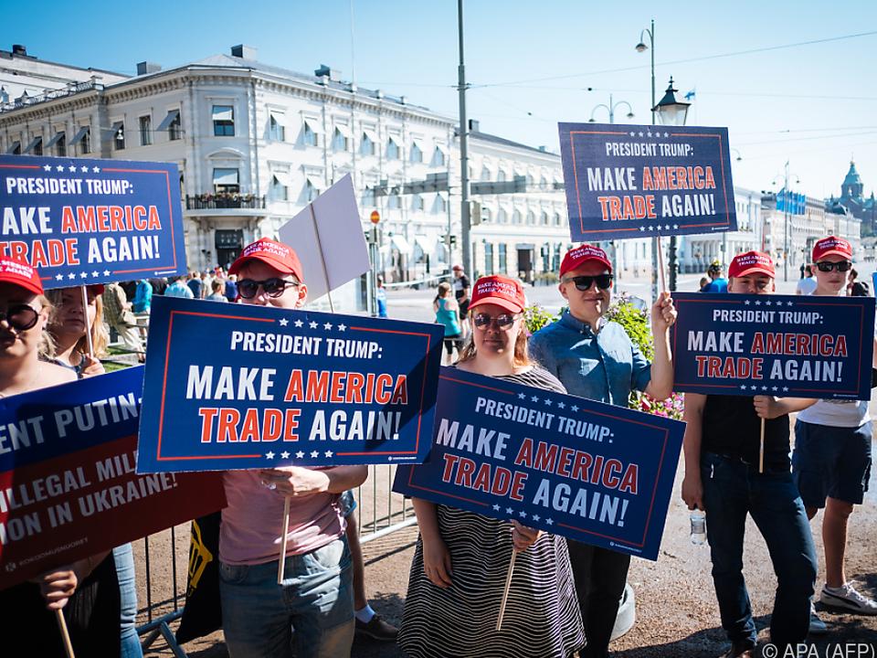 Die umstrittene Trump-Handelspolitik zeigt Auswirkungen