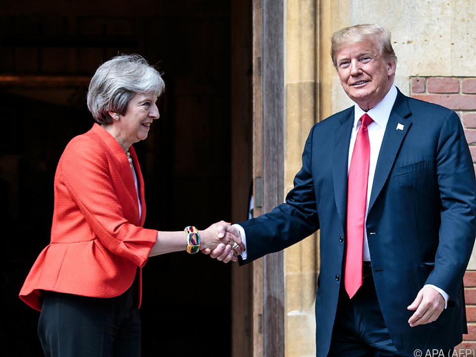 Die USA wird mit Großbritannien zusammenarbeiten