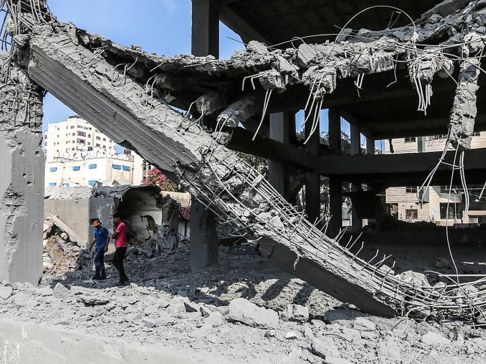 Erneut wurden Ziele im Gazastreifen angegriffen