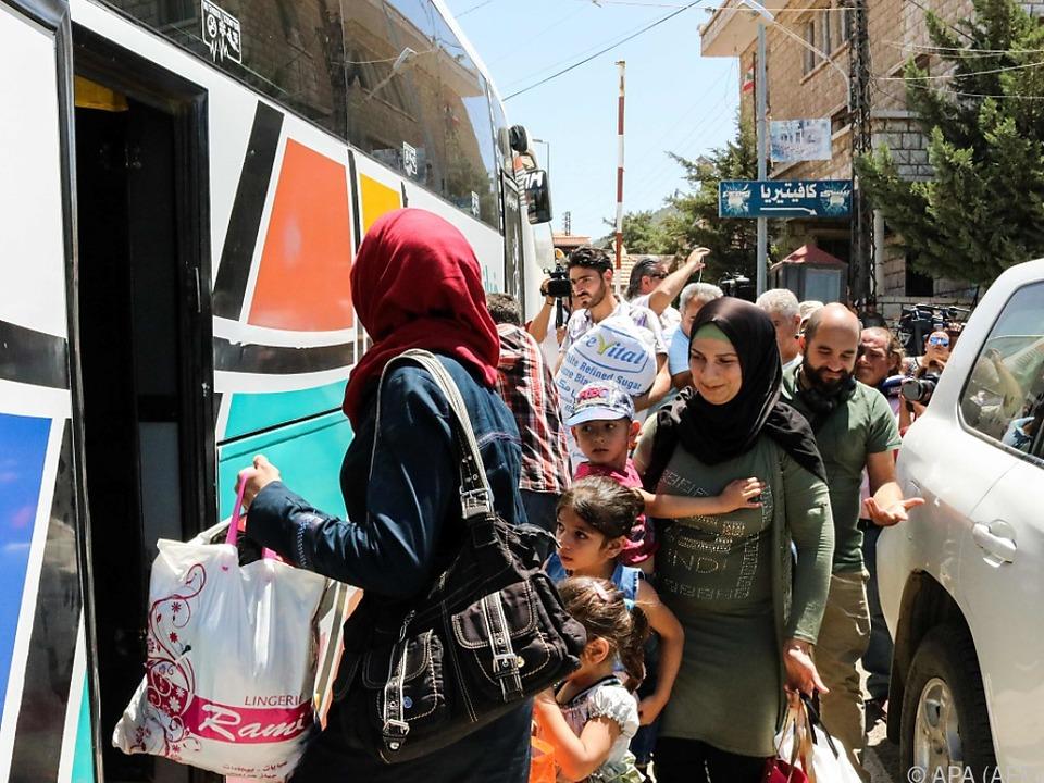 Es geht zurück in die syrische Heimat