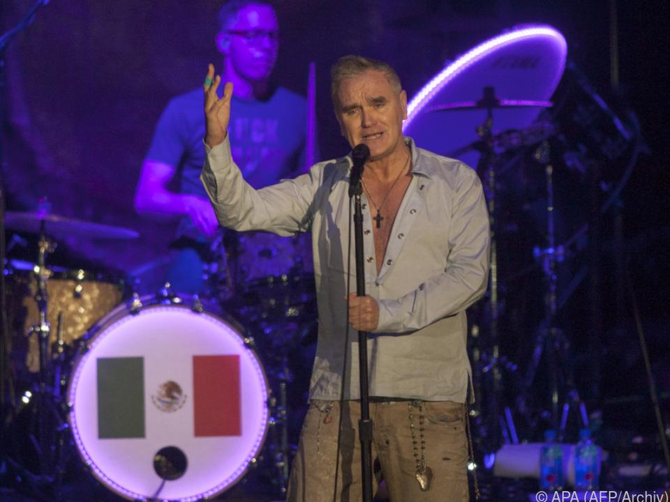 Fans des britischen Sängers Morrissey sind betroffen