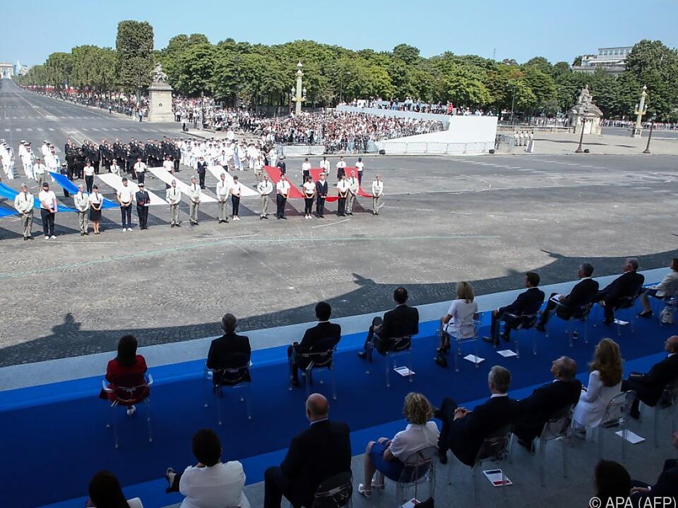 Fast 4.300 Armeeangehörige waren bei der Militärparade dabei