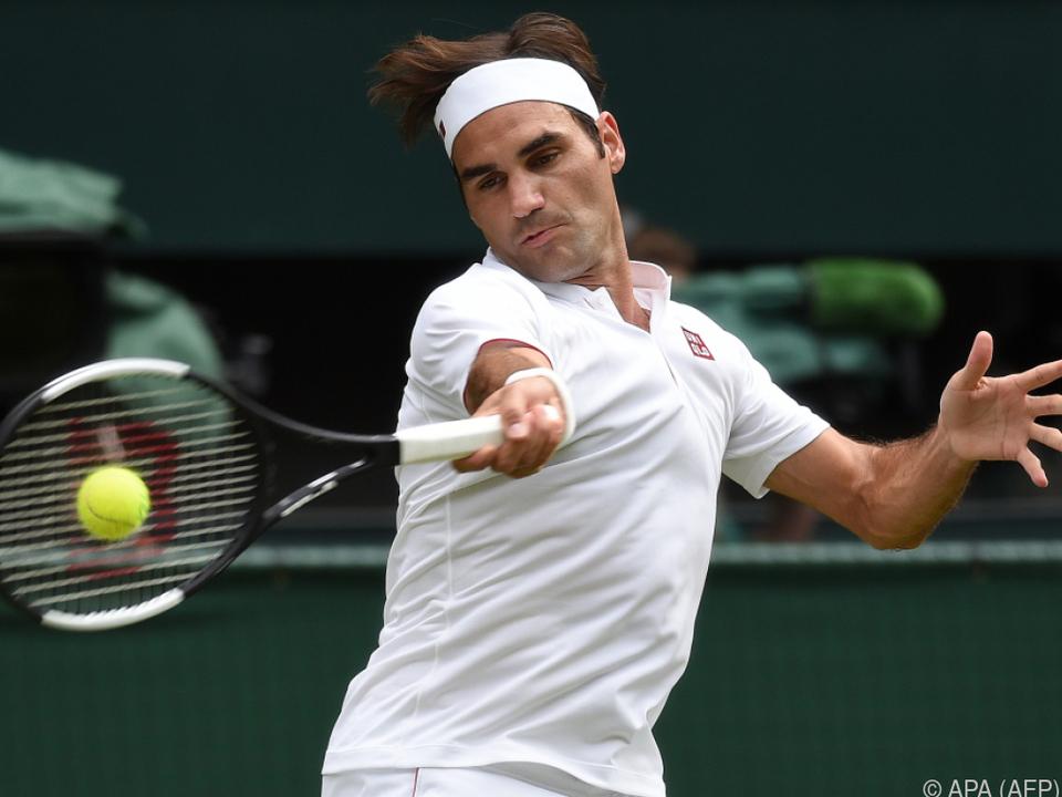 Federer elegant wie eh und je