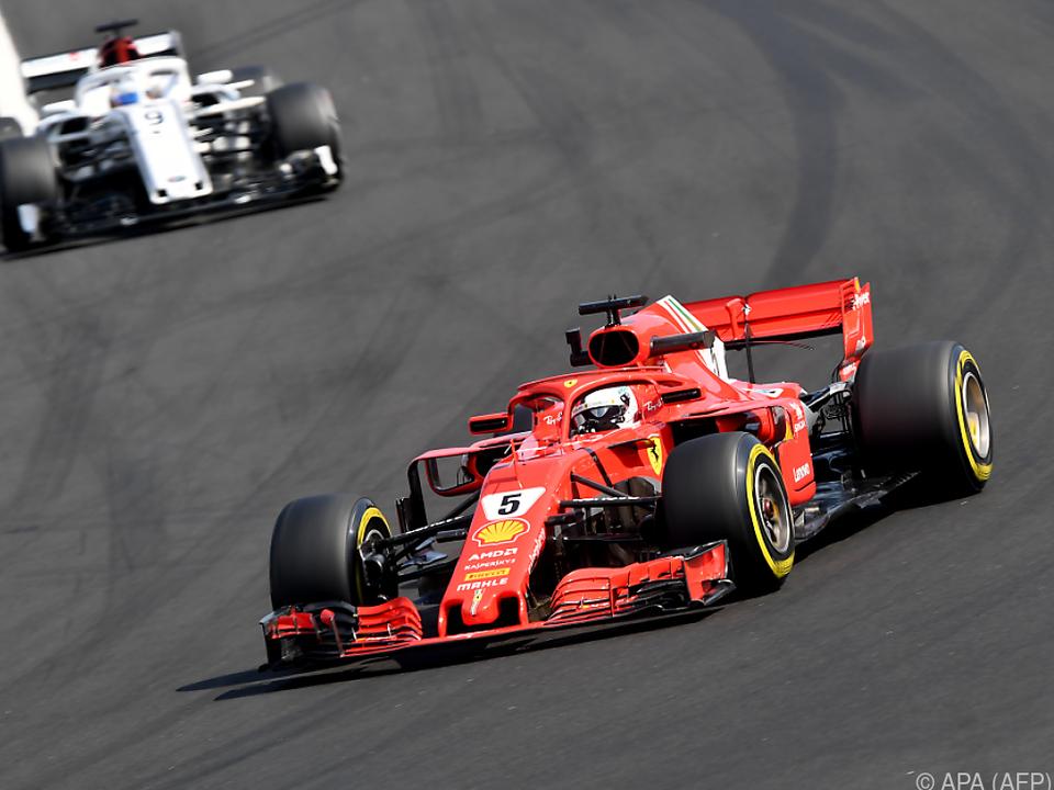 Ferrari setzt momentan den Maßstab