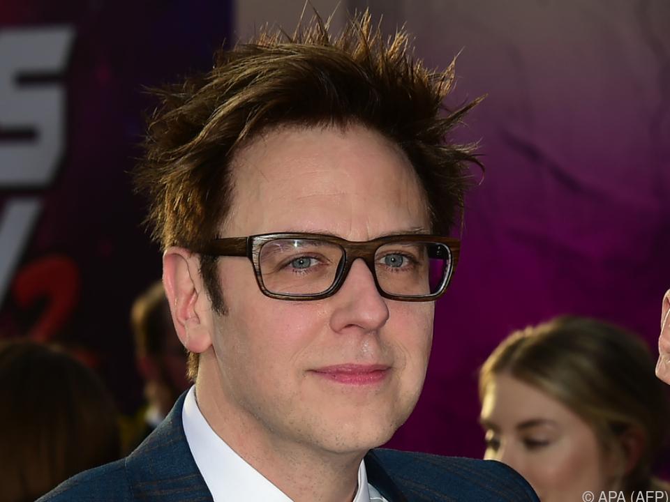 Film-Regisseur James Gunn ist seinen Job los