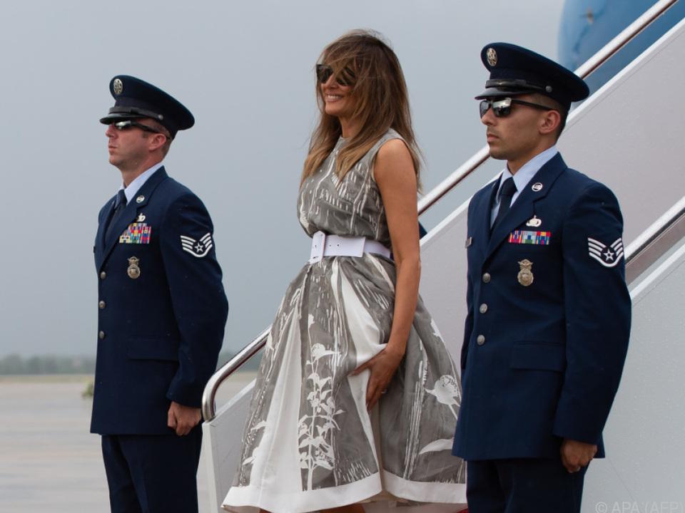 First Lady Melania Trump auf \