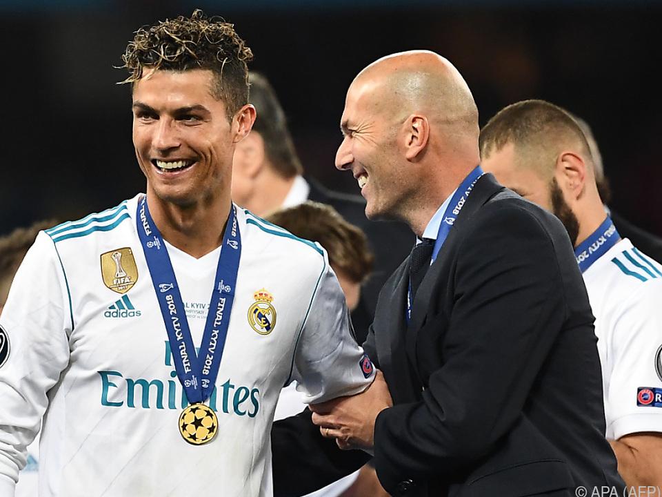 Folgt Zidane Ronaldo nach?