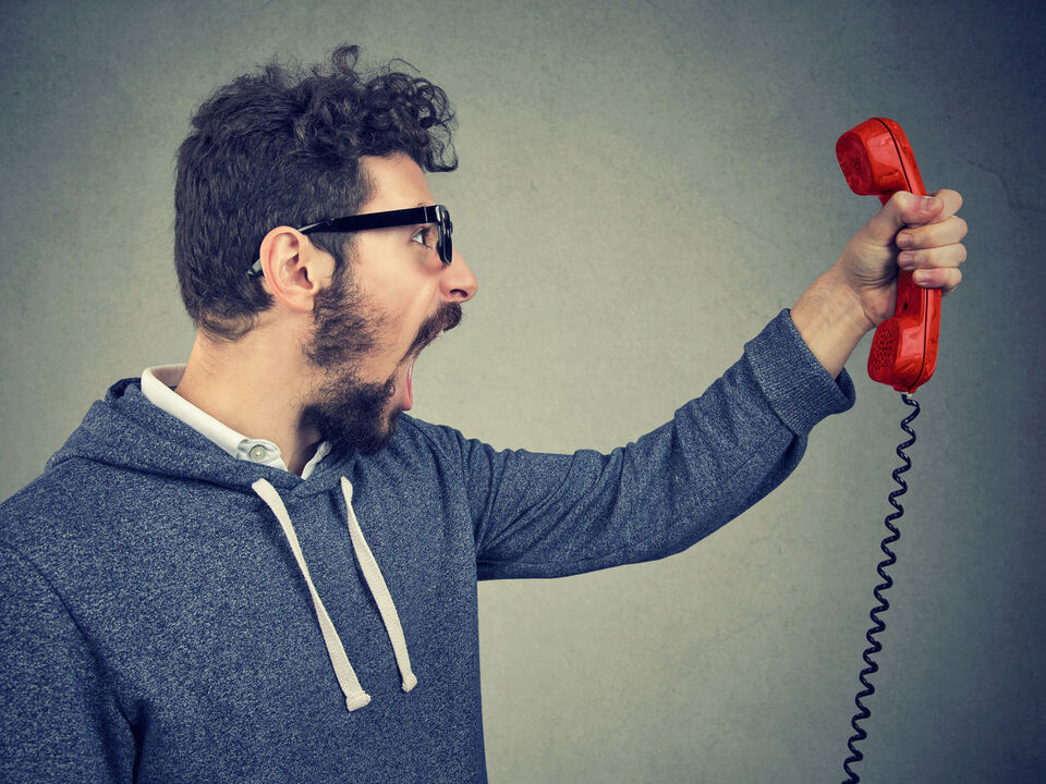 telefon ärger büro sym