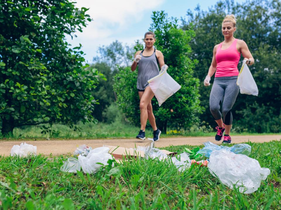 müll sammeln plogging jogging