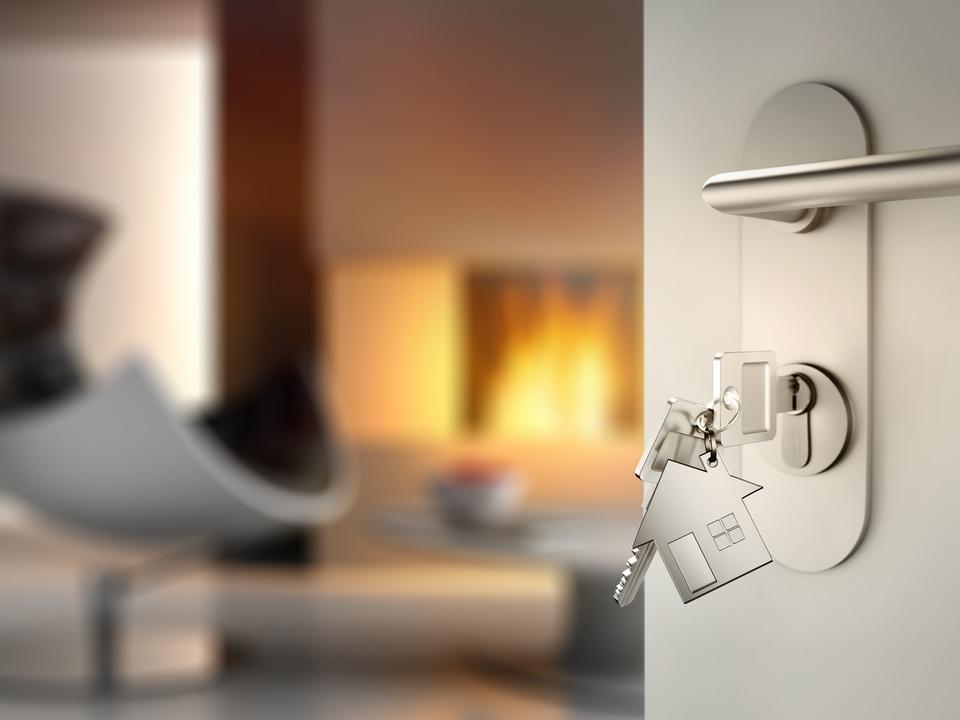 Haus bau, wohnung sym finanzierung eigenheim tür schlüssel appartment