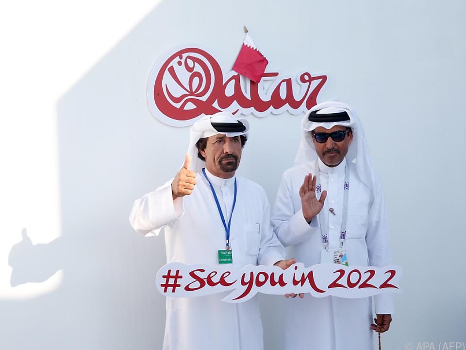 Fußball-WM 2022 findet in Katar statt