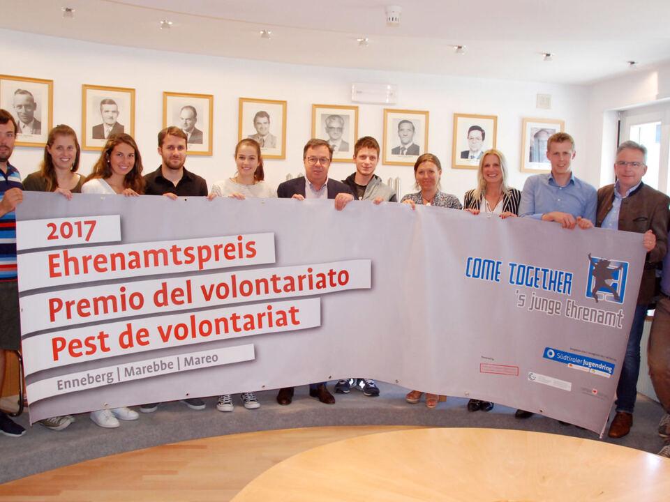 Gemeindenehrenamtspreis_Foto v. Pablo Palfrader
