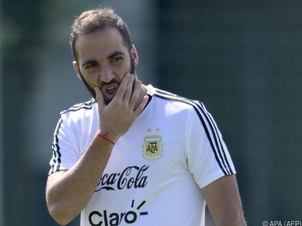 Gonzalo Higuain wechselt zu Milan