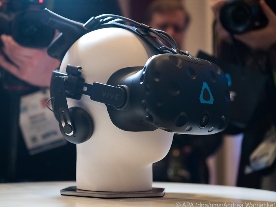 Königsklasse: Die VR-Brille Vive Pro von HTC ist noch nicht verfügbar