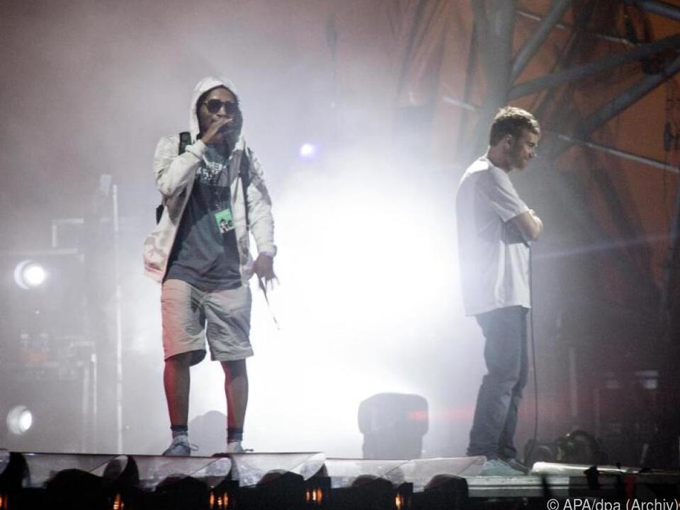 Gorillaz-Sänger ist noch immer im Krankenhaus in Roskilde
