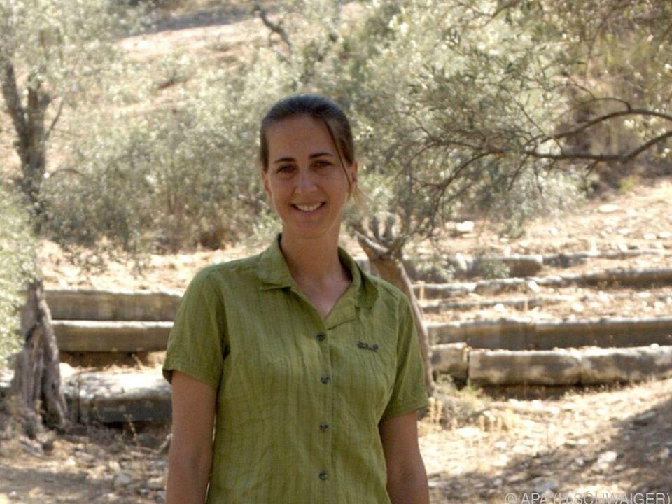 Grabungsleiterin Sabine Ladstätter sprach mit der APA
