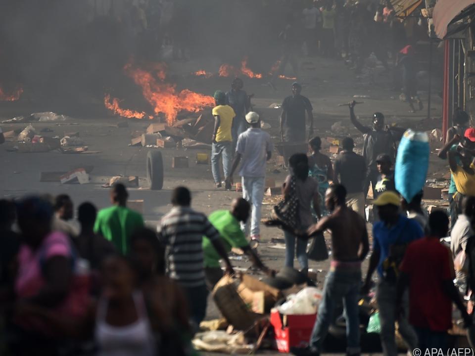 Haiti kommt nicht aus der Armutsfalle
