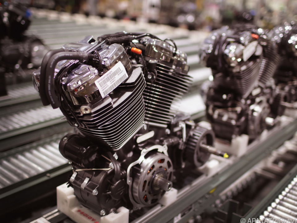 Harley-Davidson-Produktion in Wisconsin