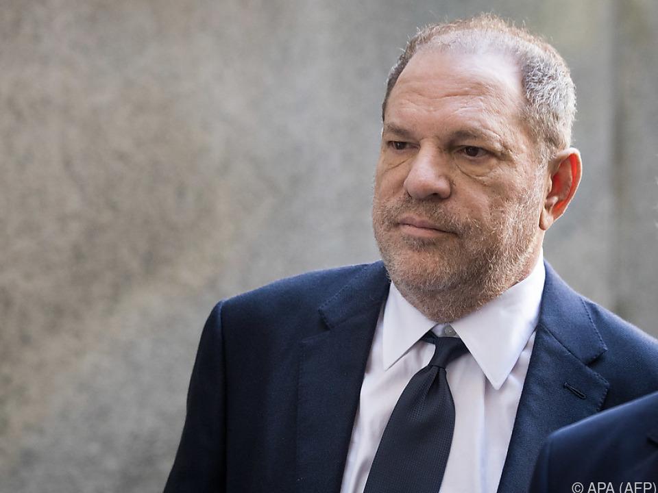 Harvey Weinstein muss derzeit ein GPS-Überwachungsgerät tragen