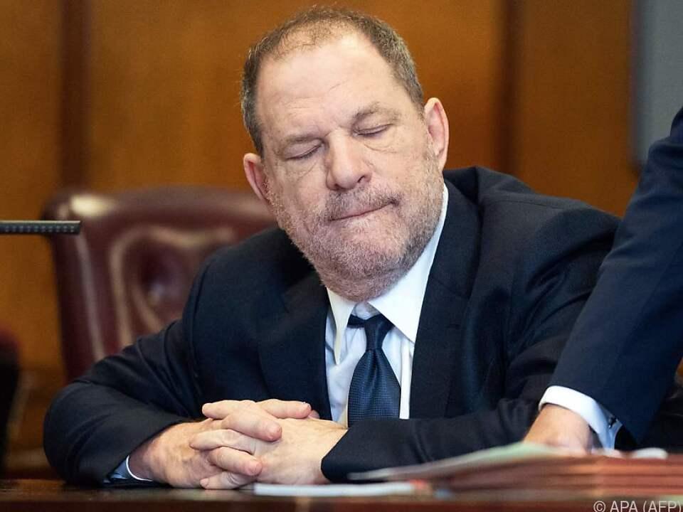 Harvey Weinstein muss sich neuen Vorwürfen stellen