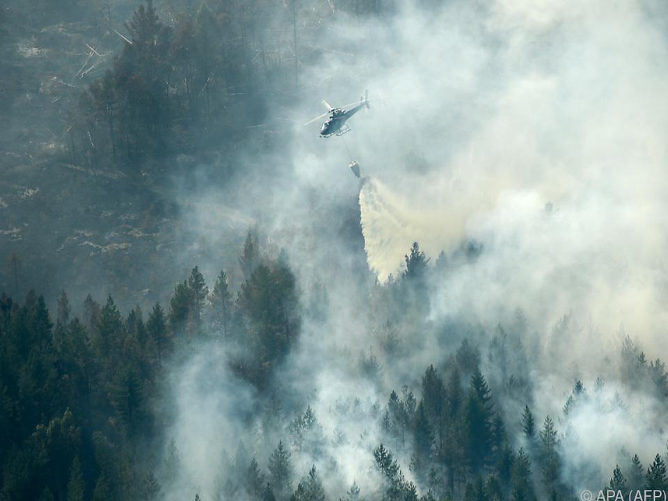 Hilfe aus der Luft kommt aus Italien und Norwegen