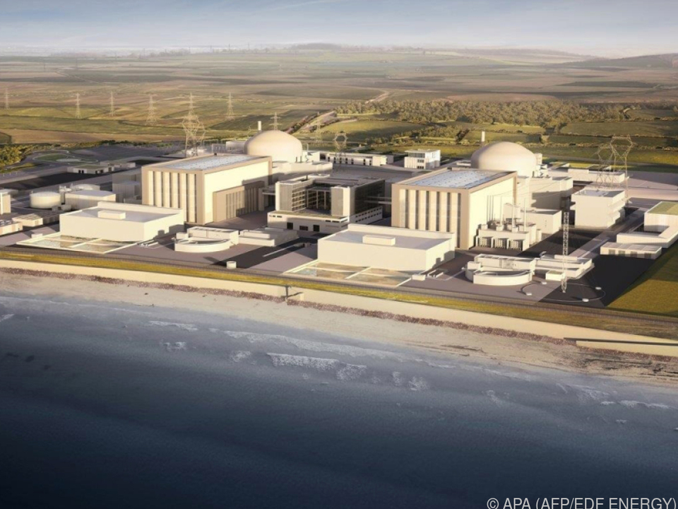 Hinkley Point C in einer Computeranimation