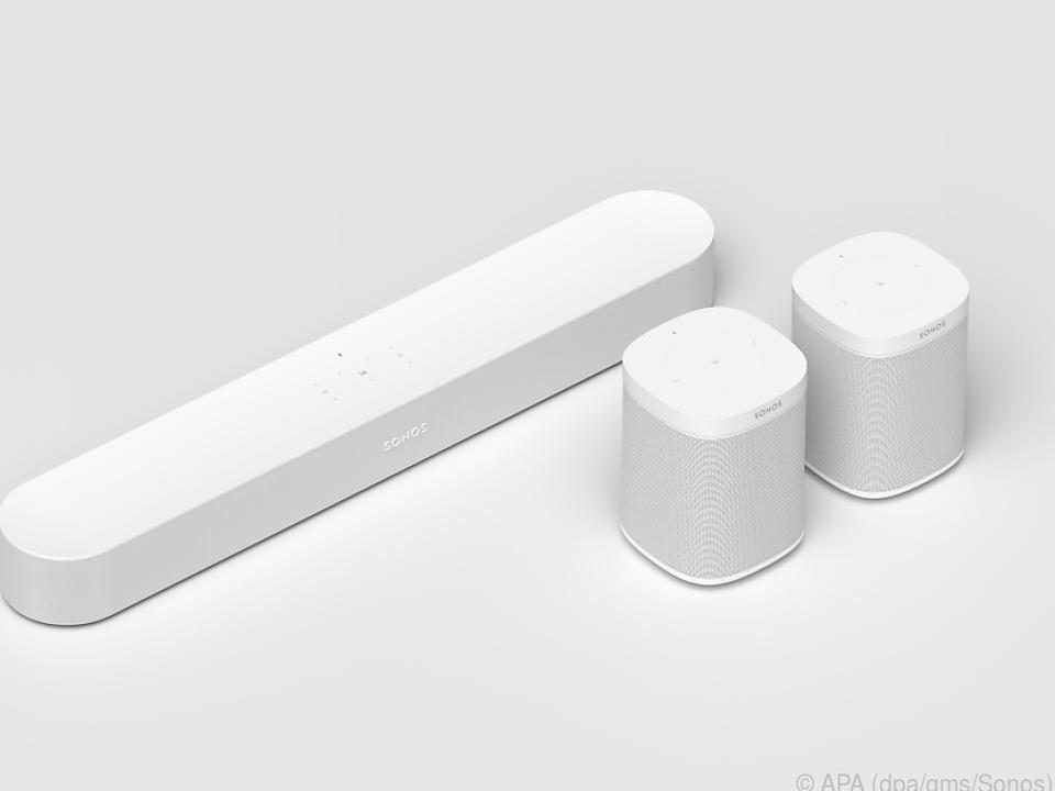 Über Apples AirPlay 2 kann man auch andere Lautsprecher verbinden