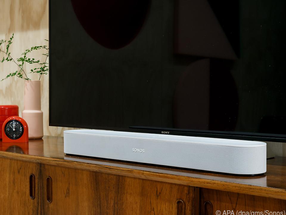 Im Inneren vom Sonos Beam stecken acht Lautsprecher
