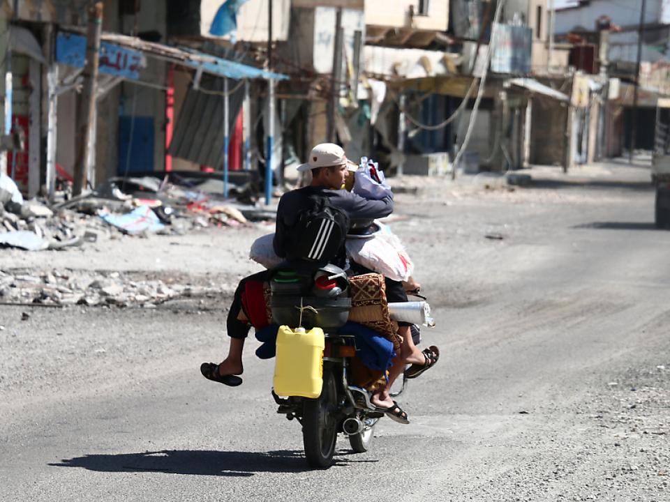 In Nawa leben noch mindestens 100.000 Menschen