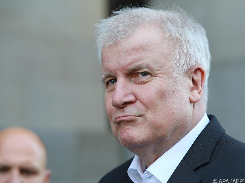 Innenminister und CSU-Chef Horst Seehofer ist hochzufrieden
