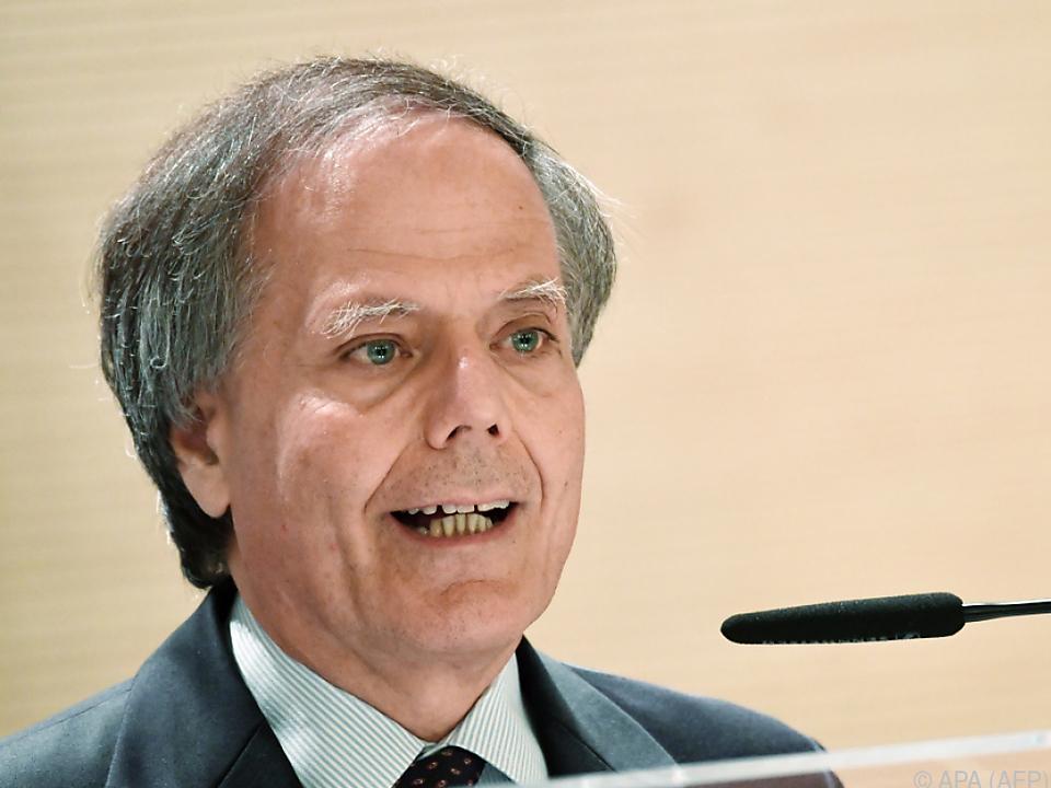 Italiens Außenminister Enzo Moavero Milanesi