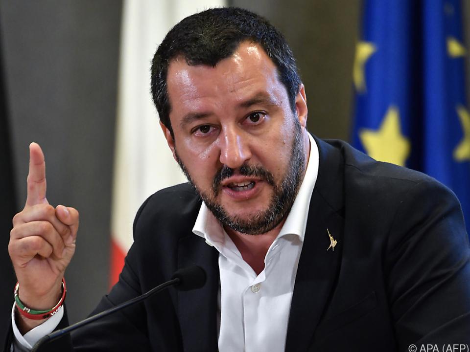 Italiens Innenminister Salvini: \