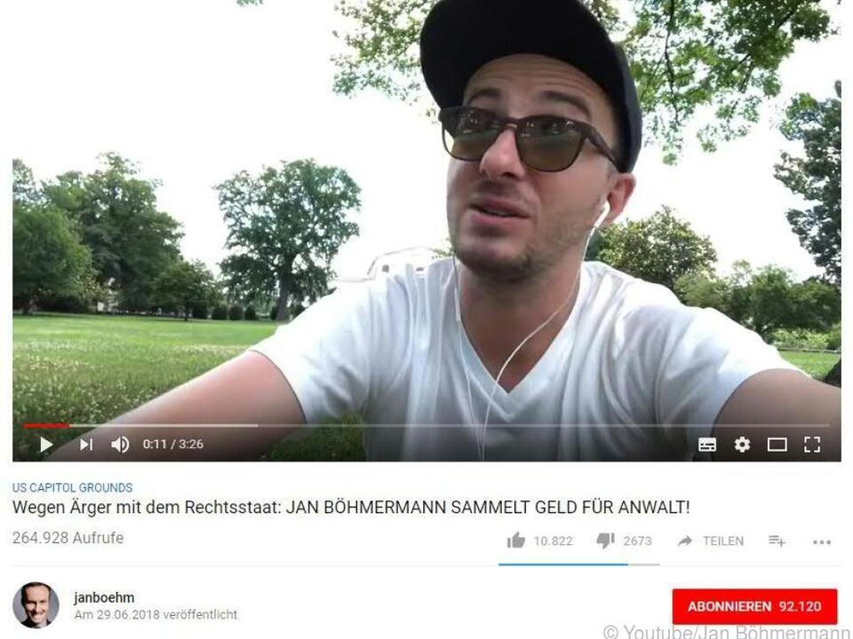 Jan Böhmermann setzt sich für die Seenotretter ein