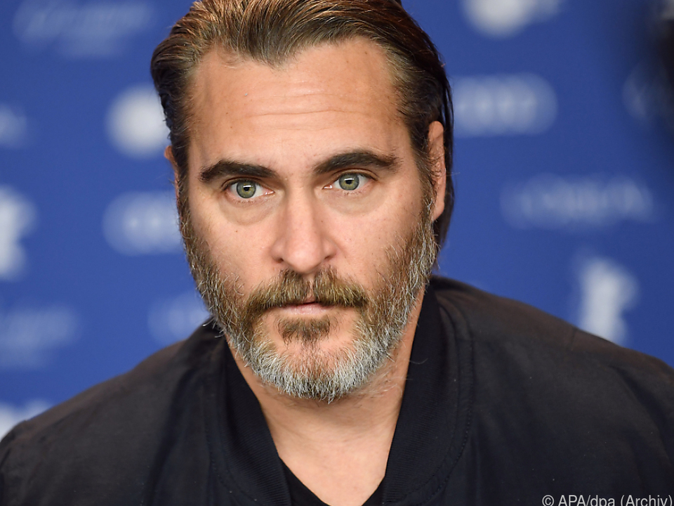 Joaquin Phoenix war schon dreimal für einen Oscar nominiert worden