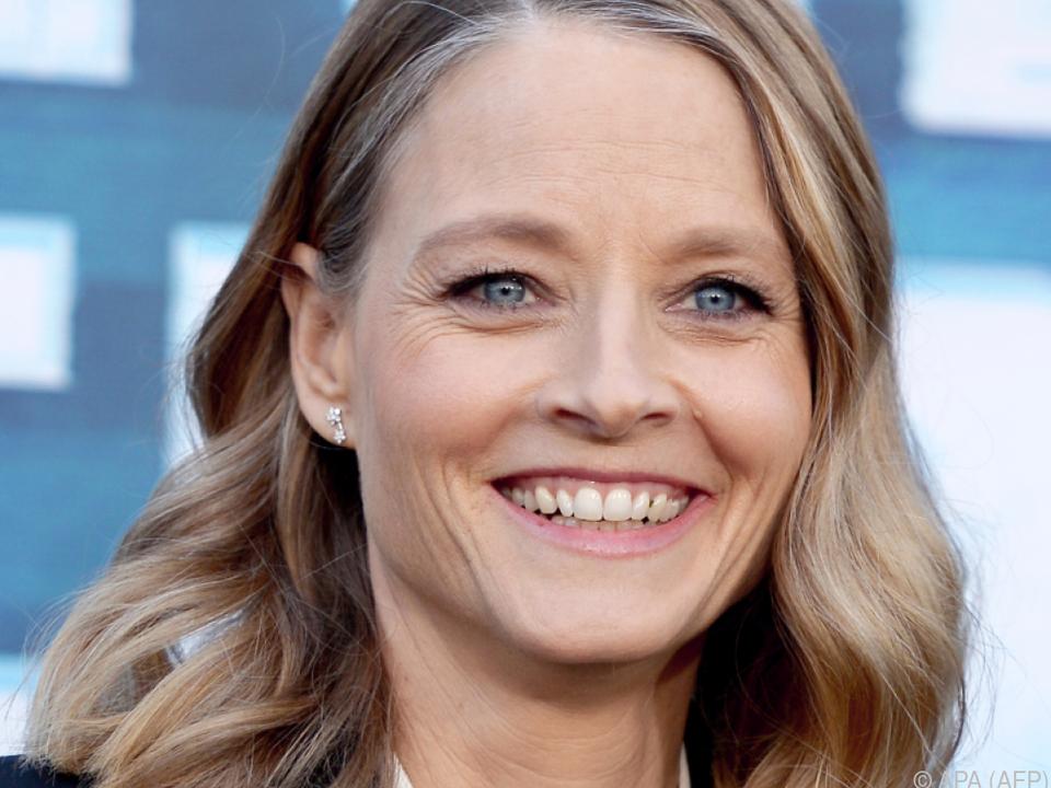 Jodie Foster bleibt auf dem Teppich