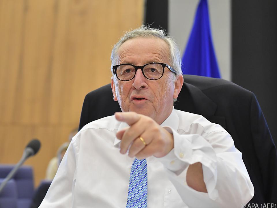 Juncker nimmt kein konkretes Angebot mit nach Washington