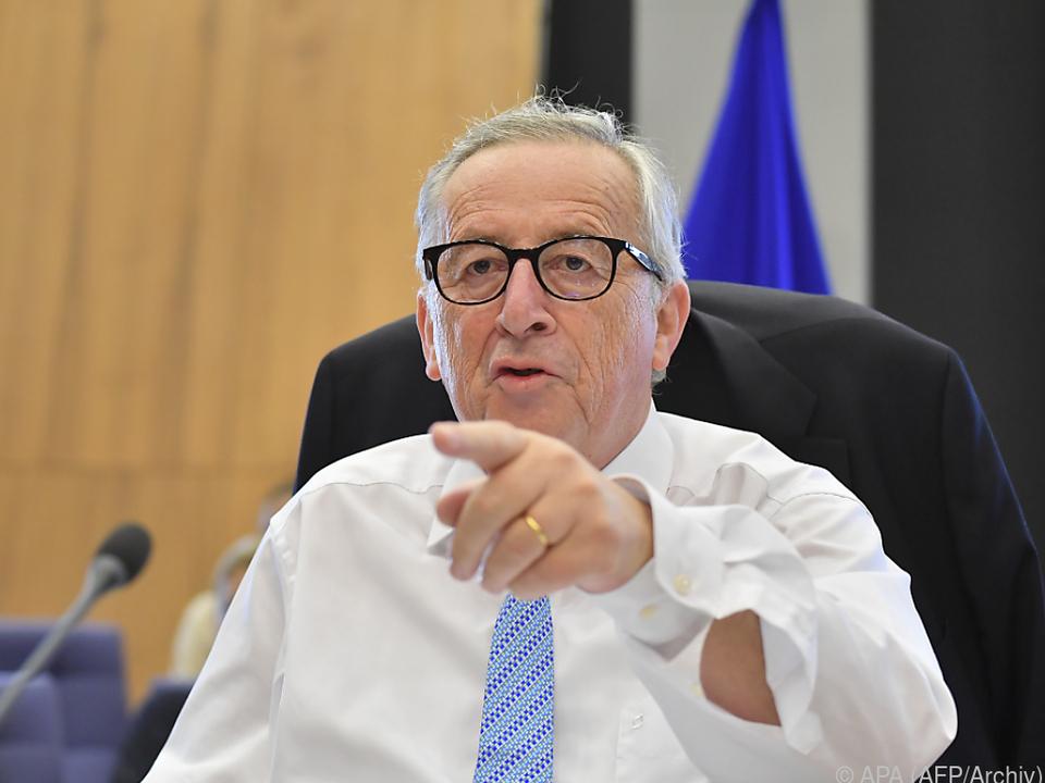 Juncker will Handsstreit abwenden