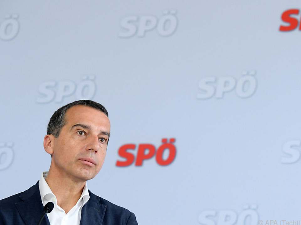 Kern will die Mehrheit für die SPÖ zurückgewinnen