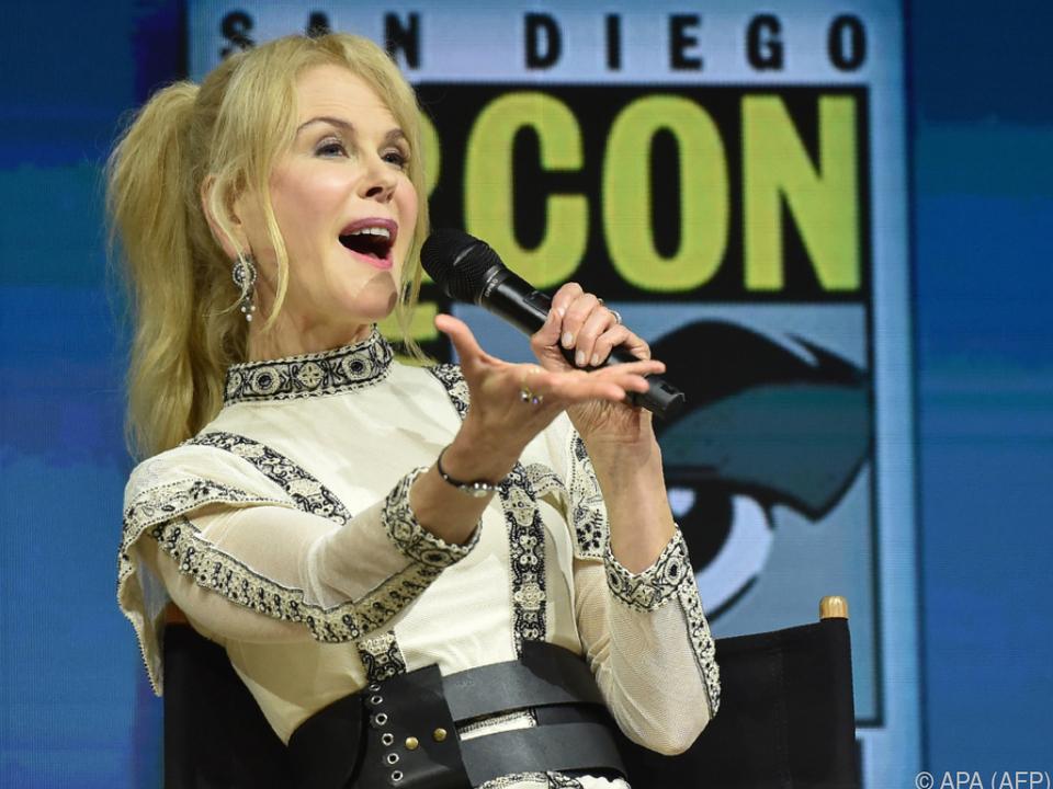 Kidman sicherte sich als Ko-Produzentin die Film- und Fernsehrechte