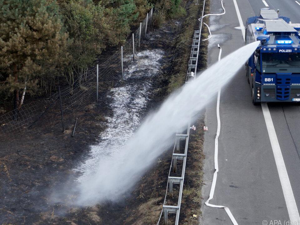 Kleinere Waldbrände bei Potsdam